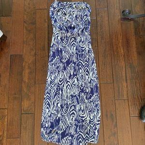 Strapless Lily Pulitzer Maxi Dress Size Small